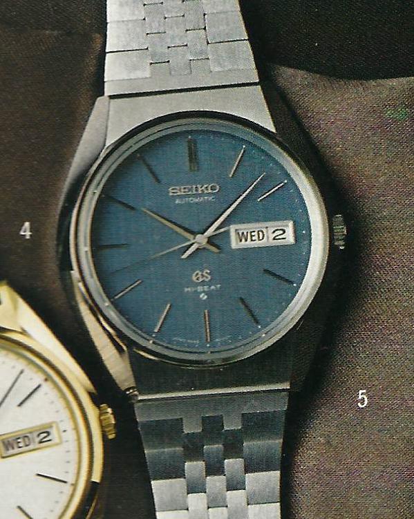 Home / Grand Seiko / 56GS / Grand Seiko 5646-8000 (blue dial)